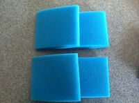 Go Kart Air Filter Pre Filter Foams 3 1/2x4 Outer Foam Covers Lot Of 4