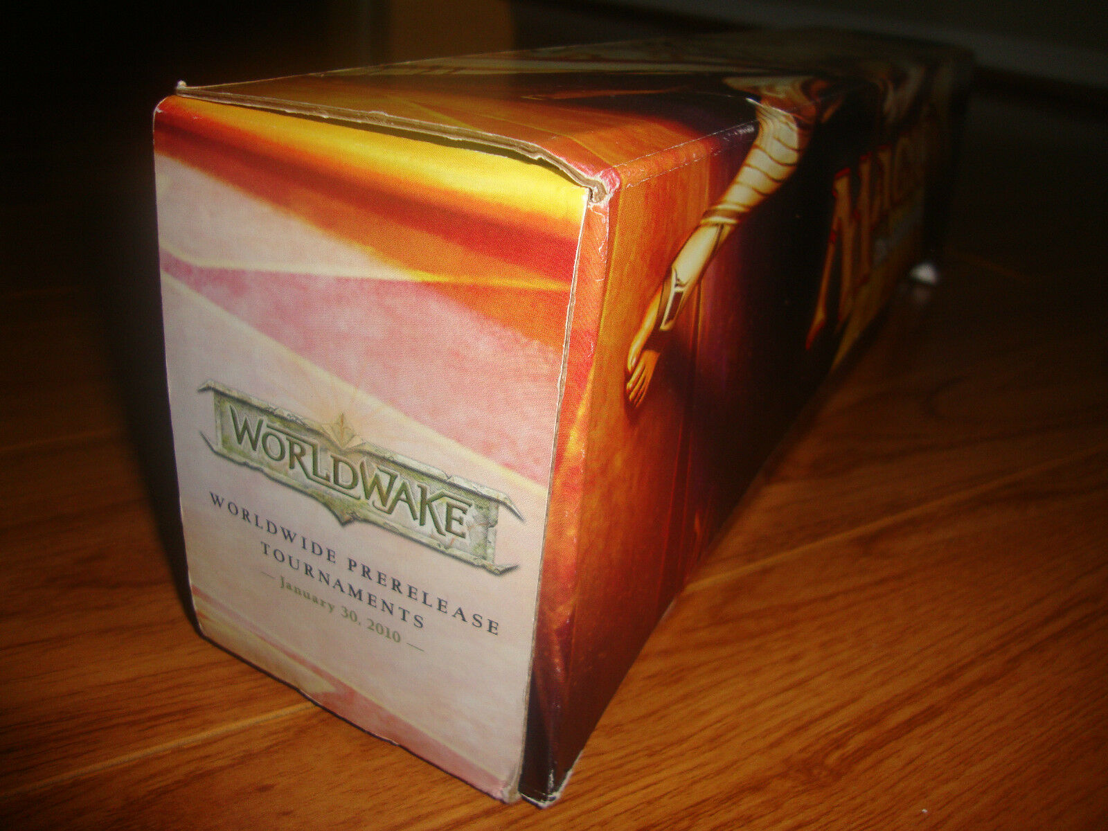 EMPTY BOX ONLY - EX PreRelease  Worldwake Storage Box Row Case Magic MTG