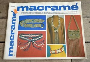 Soft-Cover-French-Book-Macrame-Guide-Pratique-Lynn-Paulin