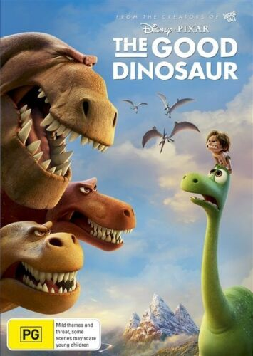 1 of 1 - Disney THE GOOD DINOSAUR (DVD, 2016) CLOSE TO NEW