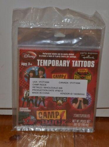 Disney Party Express from Hallmark Camp Rock Temporary Tattoos