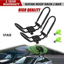 2 Sets Sunshine Yellow Roof Mounted Folding Kayak J-Style Racks PK-KR FOLD YELL2
