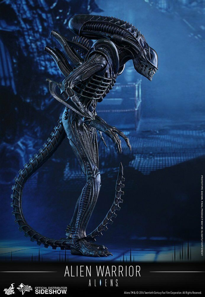 HOT TOYS MMS354 ALIENS ALIEN WARRIOR 1/6 ACTION FIGURE