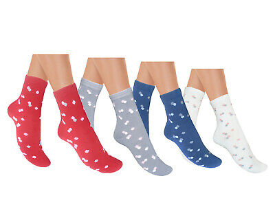 ladies seamless cotton socks comfortable everyday ankle socks for sensitive feet