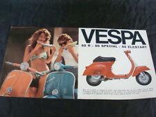 PUBBLICITA' VESPA 50 R SPECIAL ELESTART PIAGGIO OLD PROMO SCOOTERS ITALY