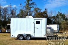 New 2021 7 X 14 7x14 Enclosed Cargo Mobile Pet Spa Animal Dog Grooming Trailer