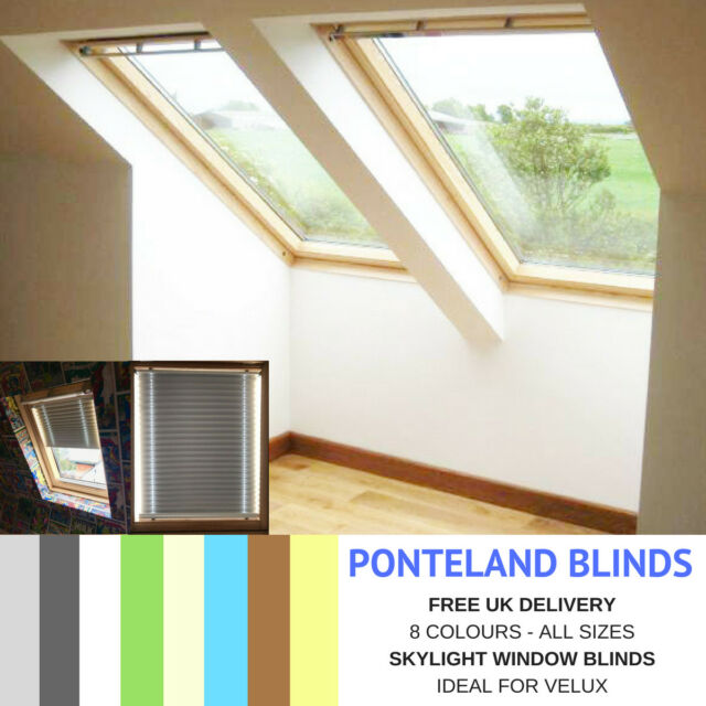 Skylight Blinds For Velux Windows Blackout Fabric Free Uk Delivery