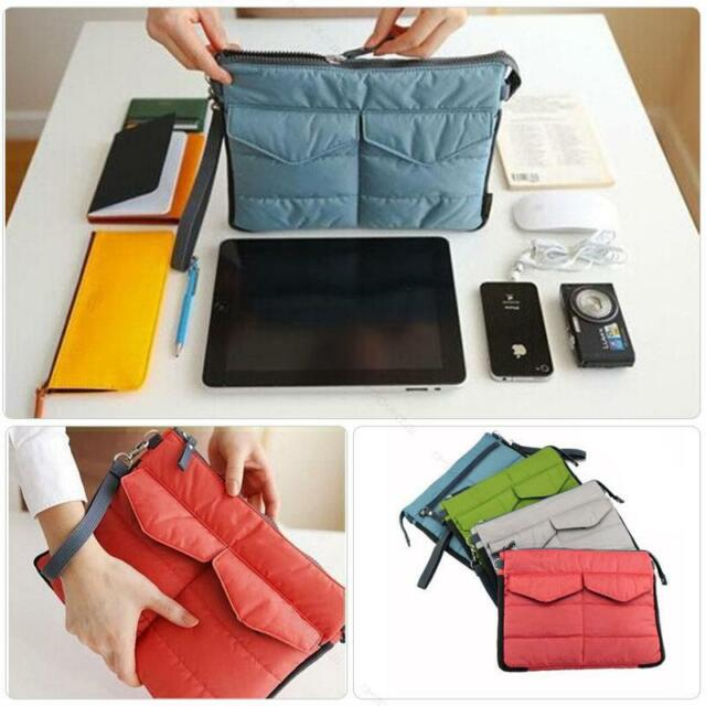 Protective Sleeve Pouch Soft Storage Bag Clutch Case Cover #E for iPad 2/3/4 Air