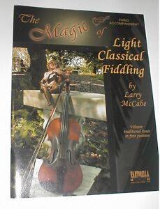 Capable The Magic Of Light Classical Fiddling Violin Piano Accompaniment Book Ships Free