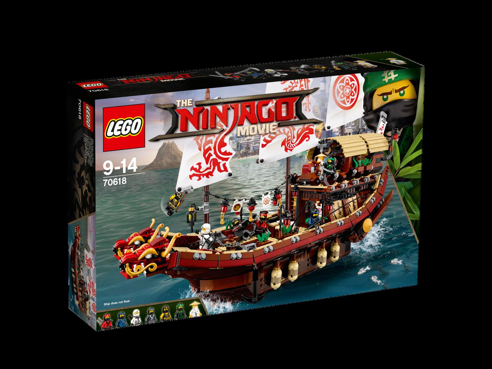 LEGO ® The LEGO ® Ninjago  ® Movie ™ 70618 NINJA-volo marinai NUOVO _ Destiny's Bounty nuovo  acquista online oggi