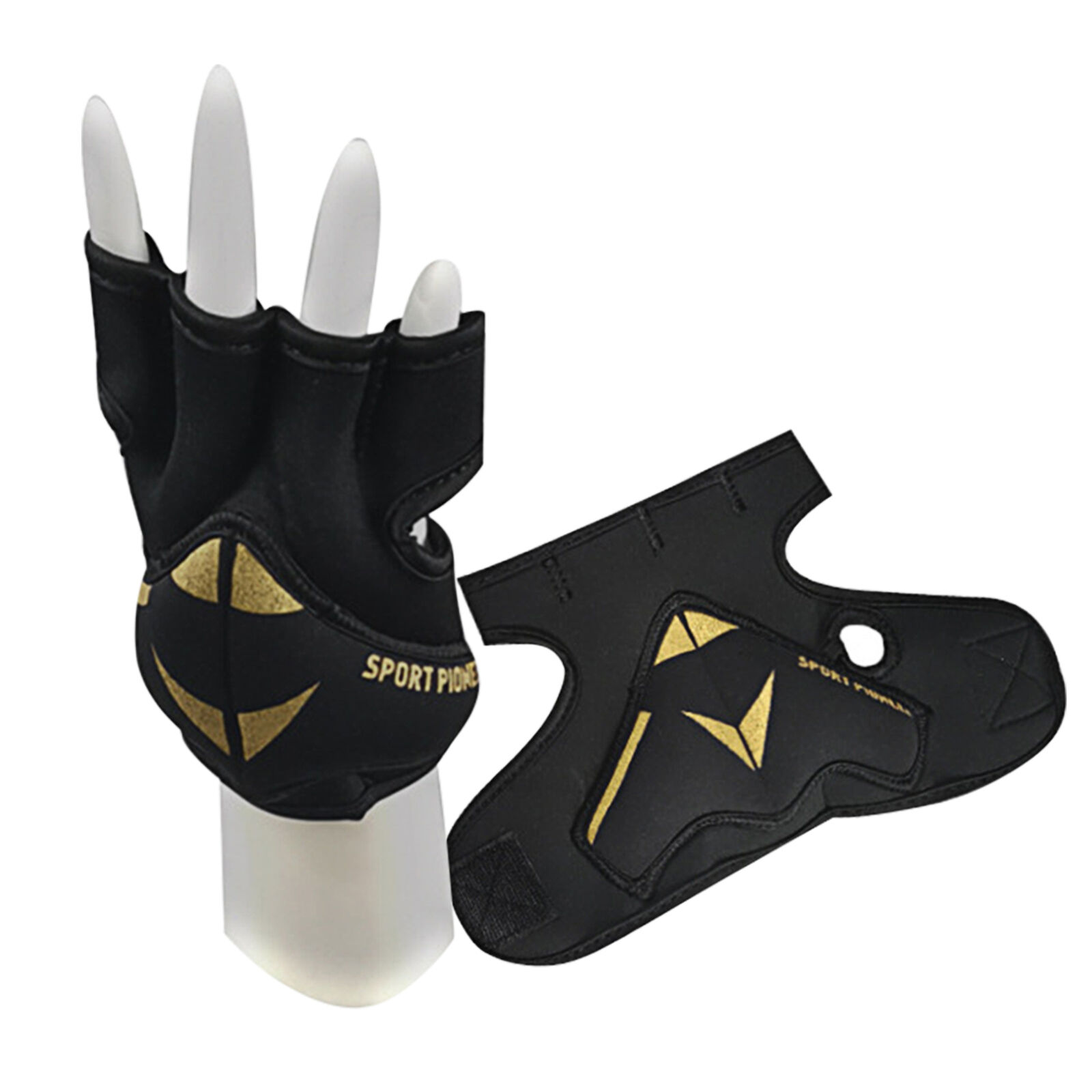 2LB Boxing Running Fitness Weighted Gloves With Wrist Support Breathable