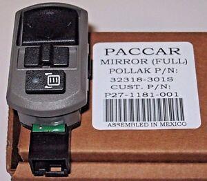 new paccar oem kenworth 4 way power mirror control. Black Bedroom Furniture Sets. Home Design Ideas