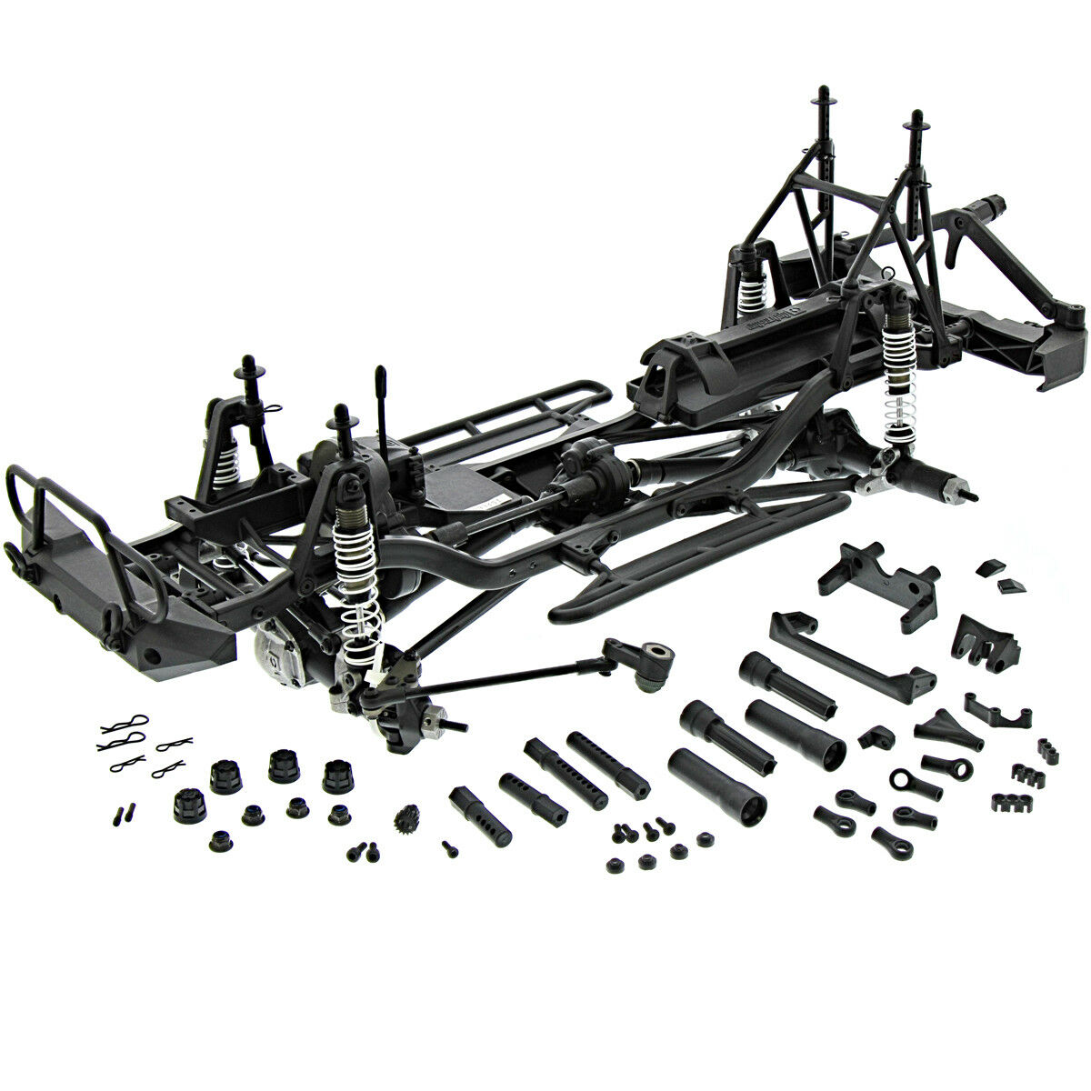 HPI 1 10 Venture   ROLLER ROLLING CHASSIS with Transfer Case & Differential  punto vendita