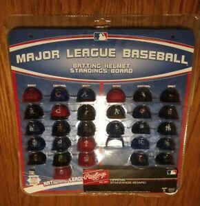 MLB Major League Baseball Deluxe Batting Helmet Standings ...