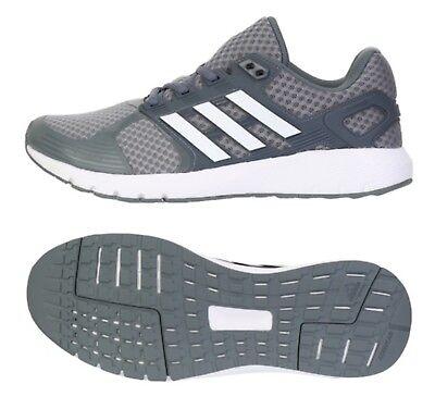 Adidas Men Duramo 8 Training Shoes Gray White Running Sneakers GYM Shoe BB4656 | eBay