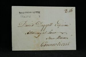 New-Hampshire-Portsmouth-1788-Stampless-Cover-Straight-Line-Cancel-2-16-Rate