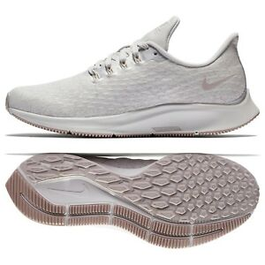 quality design 76868 bac39 Details about Nike W Air Zoom Pegasus 35 Premium AH8392-002 Grey/White  Women's Running Shoes