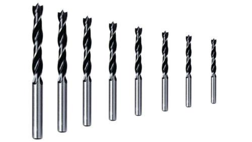 Holzspiralbohrer Bohrer Holzbohrer mit Zentrierspitze 3-16 mm Spiralbohrer