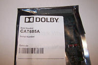 Dolby Cat685a 6 Channel A/d Converter Board Cat 685 Audio Input Cp500 •