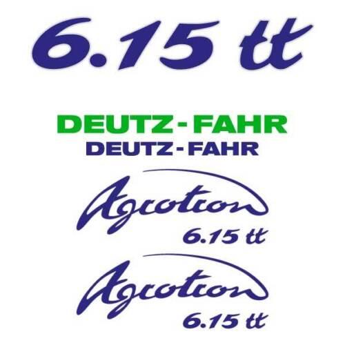 tt Aufkleber 6.20 6.05 6.45 S 6.15 Deutz-Fahr Agrotron 6.00 6.30