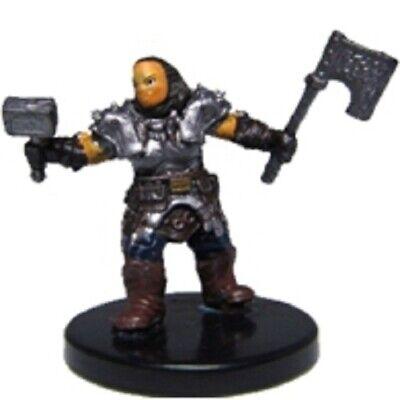 Dungeons Deep #22 Pathfinder Battles D/&D Miniature Dwarf Sundering Axe