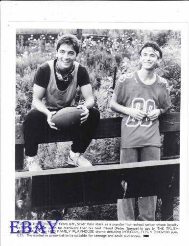 Scott Baio Peter Spence VINTAGE Photo The Truth About Alex