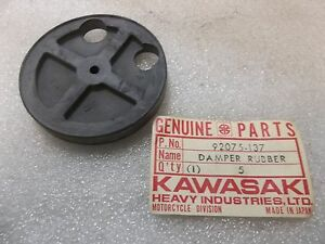 kawasaki front fork damper rubber f6 f7 f9 1971 1975 nos. Black Bedroom Furniture Sets. Home Design Ideas