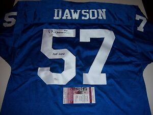 50594b978c4 Image is loading DERMONTTI-DAWSON-KENTUCKY-WILDCATS-STEELERS-HOF-2012-JSA-