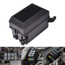Universal Automotive Fuse Relay Holder 12-Slot Relay Box 6Relays 6 ATC/ATO Fuses