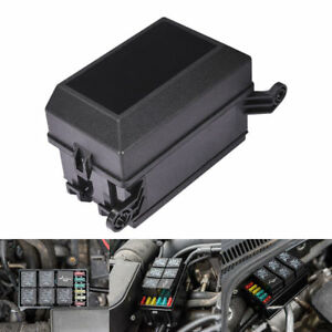 Universal Automotive Fuse Relay Holder 12-Slot Relay Box 6Relays 6 on under the hood fuse box, fuse switch box, 1988 honda prelude under hood fuse box, fuse box diagram, fuse fuse box,