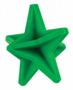 """4 1//4/"""" Star Body Green Reactive Ground Bouncing Shooting Target NEW"""