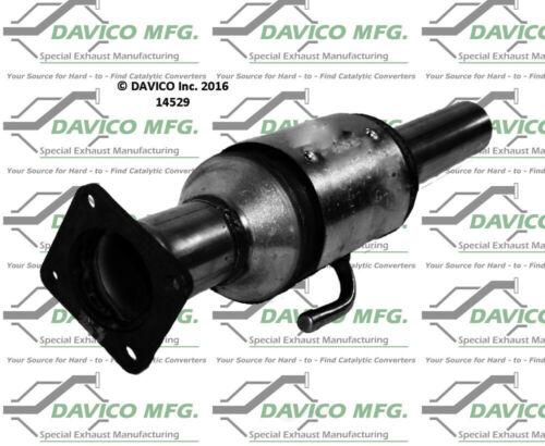 Catalytic Converter-Exact-Fit Davico Exc CA 14529