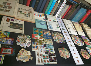 US-and-Worldwide-Stamp-Collection-Estate-Find-Covers-FDCs-Mint-650-Stamps