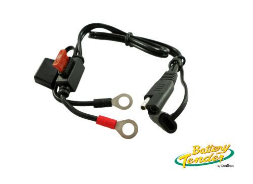"""BATTERY TENDER® 18/"""" Ring Terminal 7.5A Fuse Harness 12V Solar Panel Cable"""