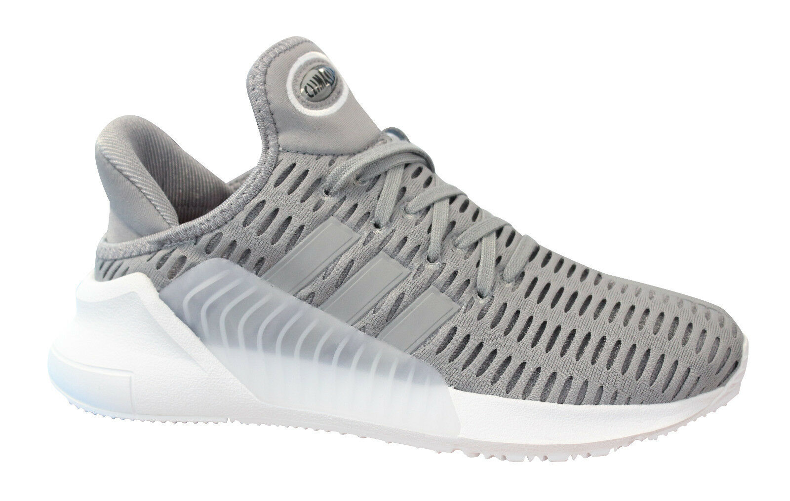 Adidas Climacool Unisex Trainers Lace Up Running Shoes Textile Grey BY9289 BY9289 Grey U31 5f03e7