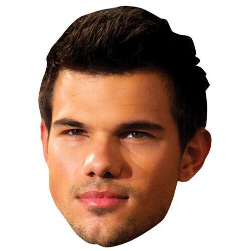 Biglietto Faccia E Maschera Costume Taylor Lautner Celebrità Maschera