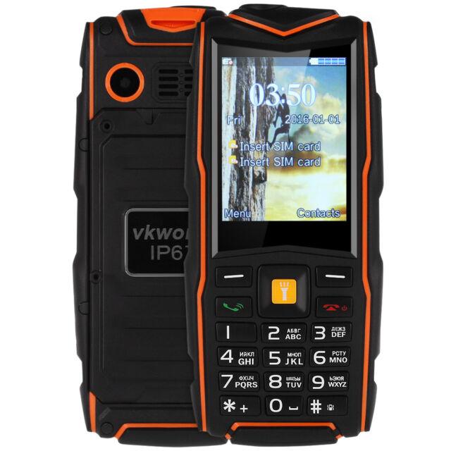 VKworld Stone V3 2.4inch Phone Water/ Dust/ Dropproof Dual SIM MP3 Flash Light