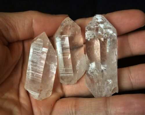 1 x Clear Quartz Point Natural Himalayan Crystal Chunky 4560mm High Grade