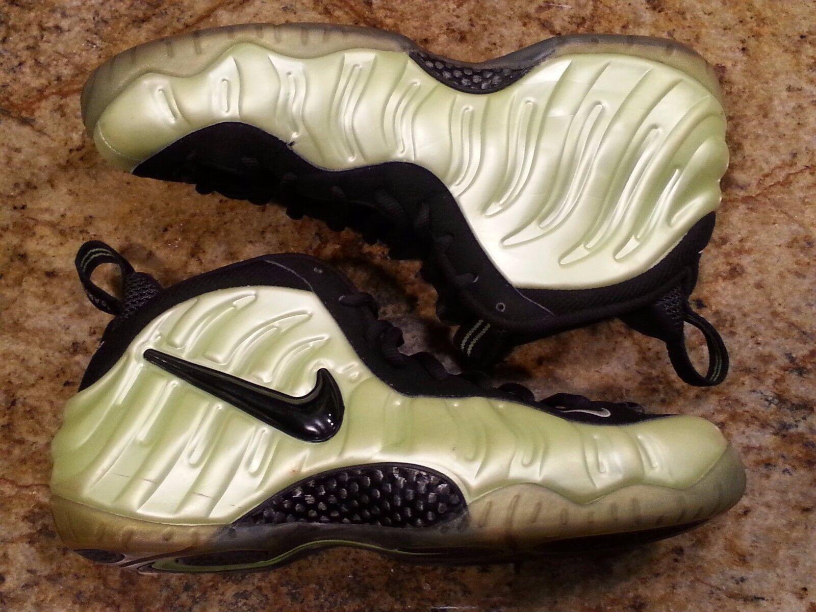 Nike Foamposite Electric Green Black Size 13. 624041-300 jordan penny