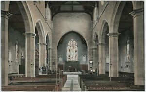 East-Grinstead-Sussex-St-Swithun-039-s-Church-Vintage-Postcard-Lot-C154
