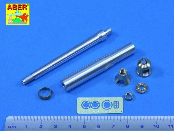 Aber 1 25 German 88mm KwK36 L 56 Tiger I (Early Model) Barrel for Tamiya kit