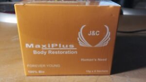 Details about MAXI PLUS BODY RESTORATION FOR MEN AND WOMAN - FOREVER YOUNG  100% bio