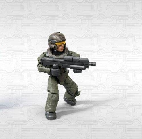 Mega Construx Halo Infinite 1 Series Green Marine w// Assault Rifle NEW in Bag