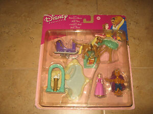 Walt-Disney-Beauty-and-the-Beast-Winter-Wonderland-Playset-Hasbro-2002-New