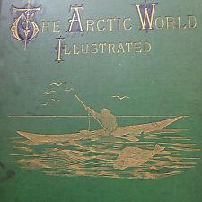 c1876 illus. The Arctic WORLD Botany ANIMALS British POLAR EXPEDITION Folio Book