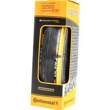 New 2018 Continental Ultra Sport II Black//Green 700x23C Folding Clincher Tire