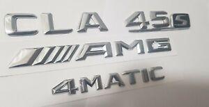 CLA 45s CLA45s  AMG 4matic Trunk Emblem Mercedes emblème tronc before restyle!!!