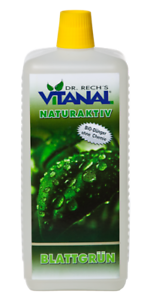 Vitanal NaturAktiv Blattgrün rein Biologisch der Umwelt zuliebe ..... 1 Liter