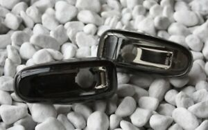 Verre Transparent Clignotants Latéraux, Kit Mercedes Benz W210 1995-1999 Noir -