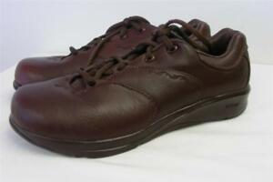 womens NEW BALANCE SL-2 350 FIT WALK MARRON leather walking shoes ... 6cbcaa2d721